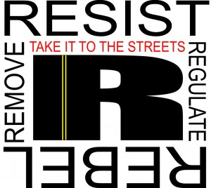 RESIST AND REBEL!